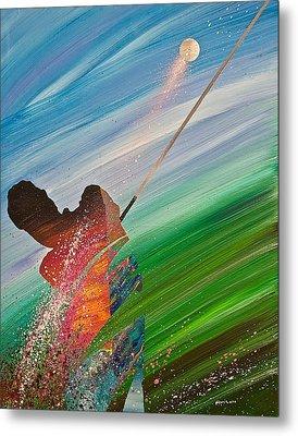 Abstract Golf Metal Print by Douglas Fincham
