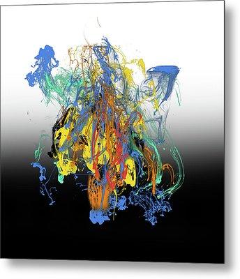 Abstract Idea 8 Metal Print