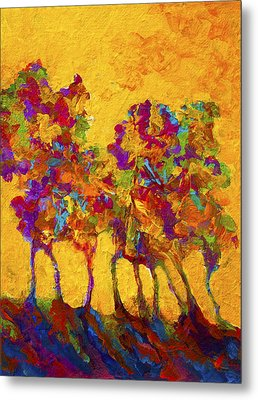 Abstract Landscape 3 Metal Print by Marion Rose