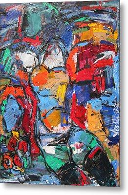 abstract nude II Metal Print