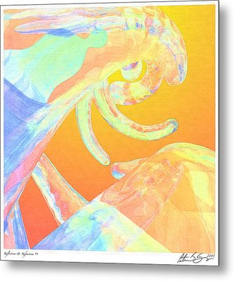 Abstract Number 1 Metal Print by Peter J Sucy