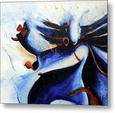 Abstract Painting  Metal Print by Shweta Singh