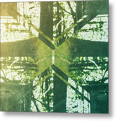 Abstract Trees Metal Print by Thubakabra
