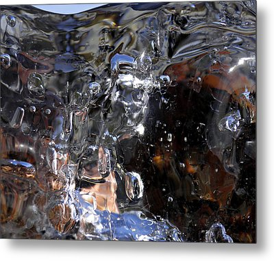 Metal Print featuring the photograph Abstract Waterfall by Sami Tiainen