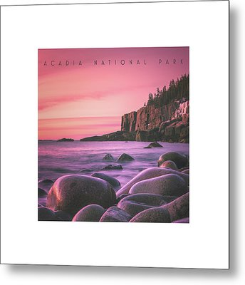 Acadia National Park Metal Print by Chad Tracy