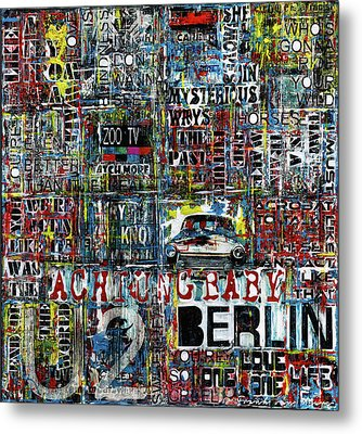 Achtung Baby Metal Print