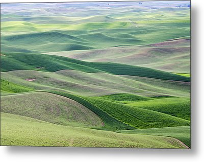Metal Print featuring the photograph Across The Valley by Wanda Krack
