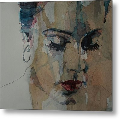 Adele - Make You Feel My Love  Metal Print