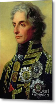 Admiral Horatio Nelson Metal Print