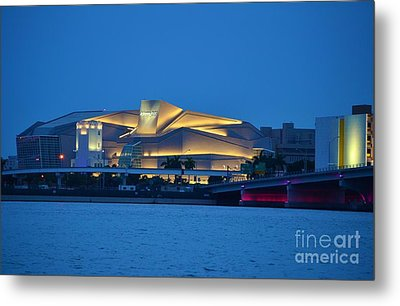 Adrienne Arsht Center 2 Metal Print