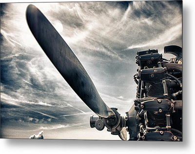 Aero Machine Metal Print by Nathan Larson