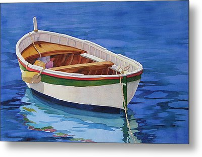 Afloat Metal Print by Judy Mercer