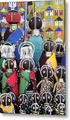 African Dolls Metal Print by Neil Overy