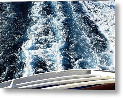 Metal Print featuring the photograph Aft by Piety Dsilva