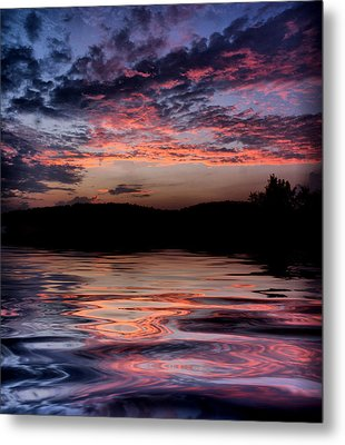 After The Storm Metal Print by Rick Friedle