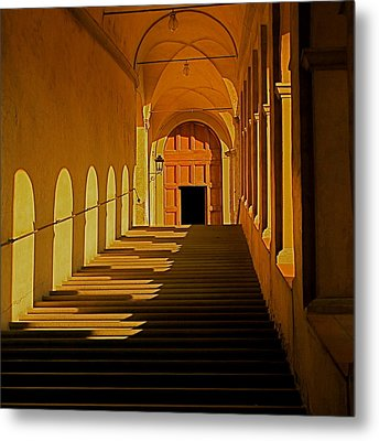 Metal Print featuring the photograph Afternoon Sun-certosa Del Galluzzo by Nicola Fiscarelli