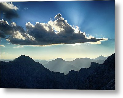 Metal Print featuring the photograph Afternoon Sunburst by Marie Leslie