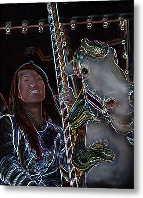 Ageless Fun Metal Print