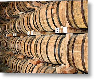 Aging The Whisky Metal Print by Kristin Elmquist