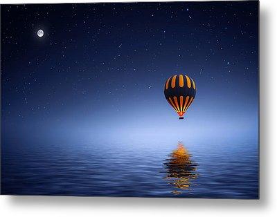 Air Ballon Metal Print by Bess Hamiti