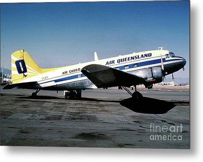 Air Queensland Douglas C-47a-20-dk, Vh-bpl Metal Print