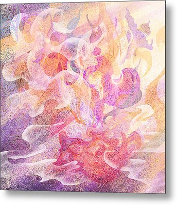 Aladdin's Lamp Metal Print by Rachel Christine Nowicki