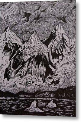 Alaska Song Metal Print by Anna  Duyunova