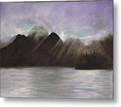 Alaskan Morning Metal Print by Merle Blair