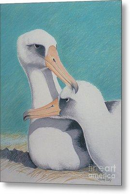 Albatros Love Metal Print