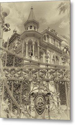 Albert Chamas Villa Metal Print by Nigel Fletcher-Jones