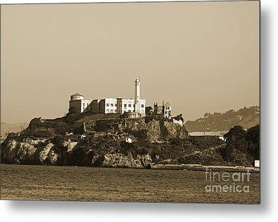 Alcatraz Metal Print by Denise Pohl