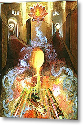 Alchemy Metal Print by Anne Cameron Cutri