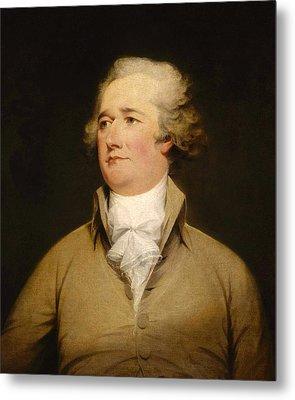 Alexander Hamilton Painting Metal Print