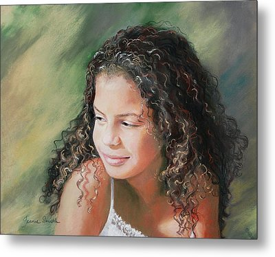 Alexis Metal Print by Jeanne Rosier Smith
