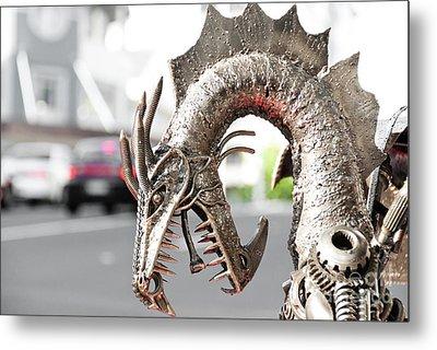 Alien Invasion.dragon. Metal Print by Yurix Sardinelly