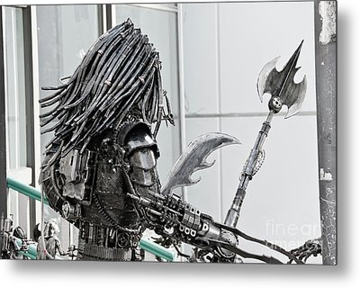 Alien Predator Metal Print by Yurix Sardinelly
