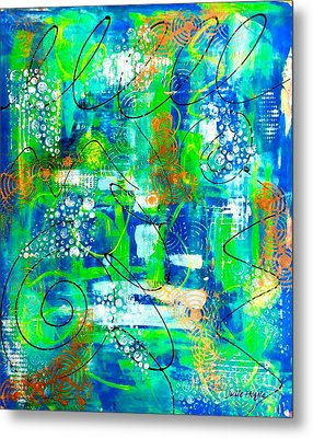 All A Whirl Metal Print