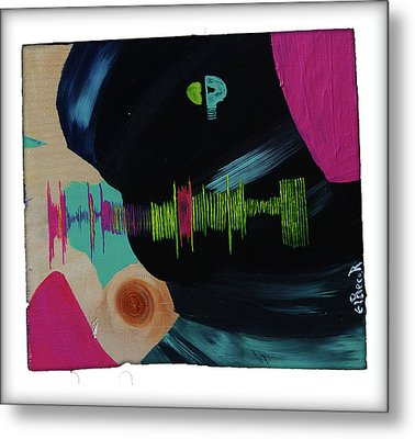 All I Can Do Is Think About You - Abstract Painting Metal Print