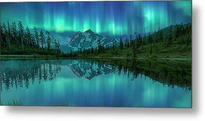 Metal Print featuring the photograph All In My Mind by Jon Glaser