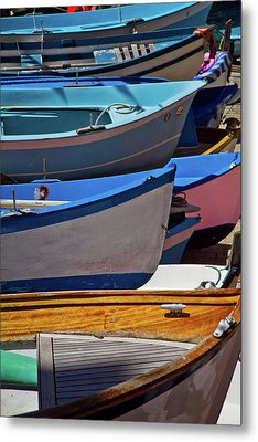 All Lined Up Metal Print by Roger Mullenhour