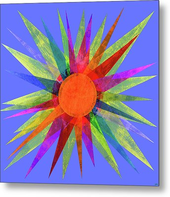 All The Colors In The Sun Metal Print