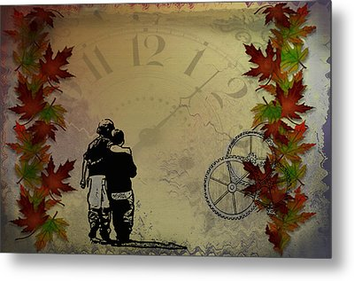 All The Time In The World Metal Print by Bill Cannon