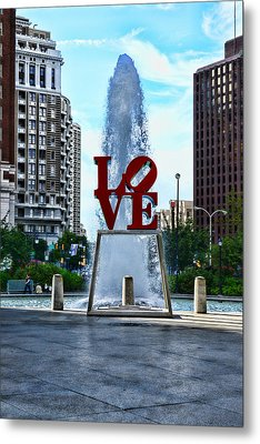 All You Need Is Love Metal Print by Paul Ward