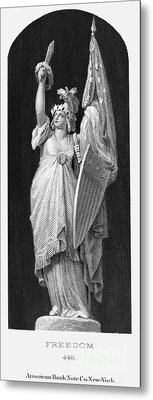 Allegory: Columbia, 1870 Metal Print by Granger