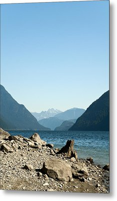Allouette Lake Metal Print by Emilio Lovisa