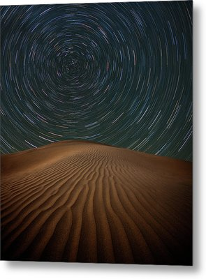 Alone On The Dunes Metal Print by Darren White