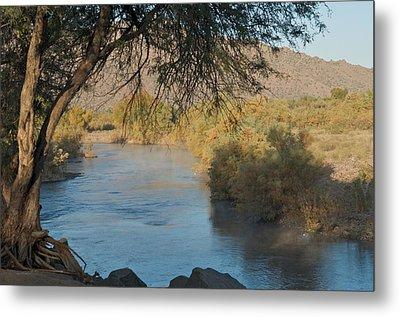 Along The Verde River 9 Metal Print by Susan Heller