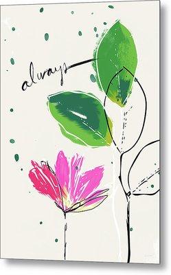 Always- Art By Linda Woods Metal Print