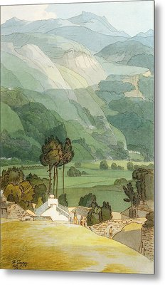 Ambleside Metal Print by Francis Towne