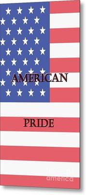 American Pride Metal Print